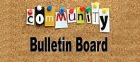 bulletin board image